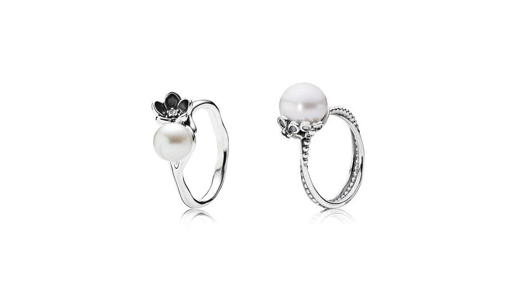Freitagsfund*: Perlenringe von Pandora
