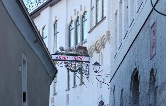 Salzburg-Tipps: Abendessen im Stieglkeller