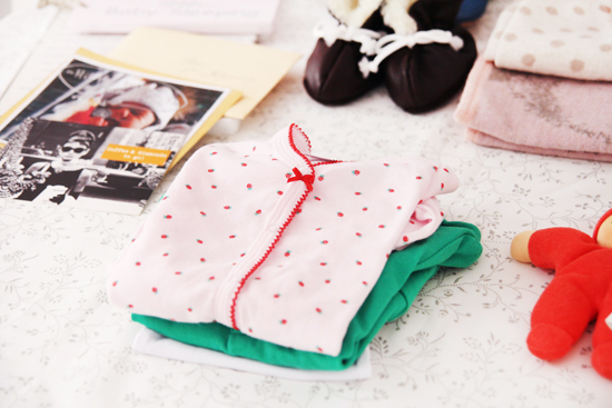 Baby-Geschenk: Bodys von Petit Bateau