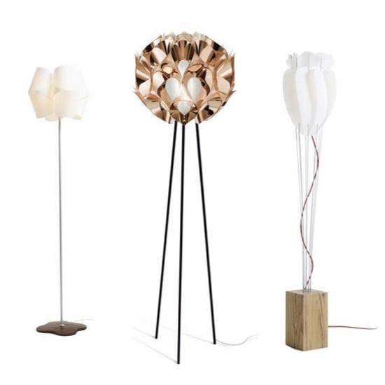 Stehlampen-Trends: Stehleuchten im avantgardistischen Design