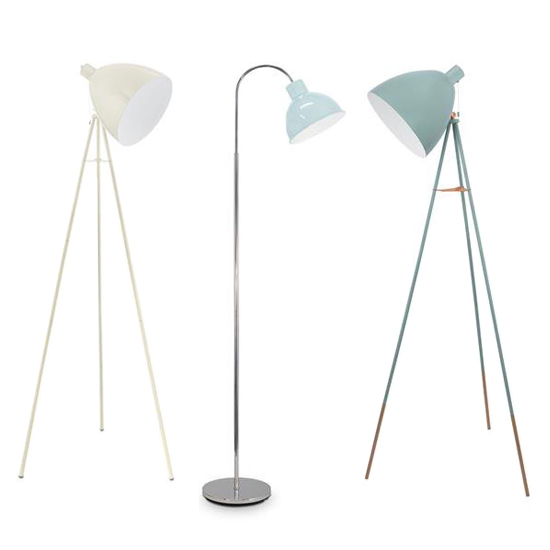 Stehlampen-Trends: Stehleuchten im Vintage-Design