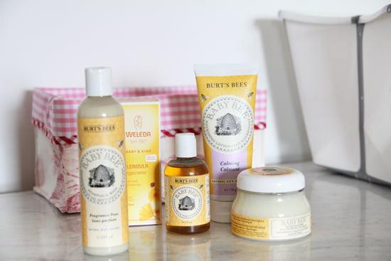 Babypflege von Burt's Bees und Weleda