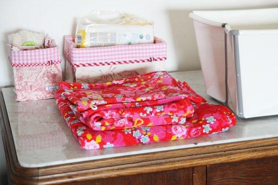 Handtücher Chinese Blossom Red von PiP