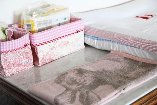 Decke mit Hasenmotiv von David Fussenegger