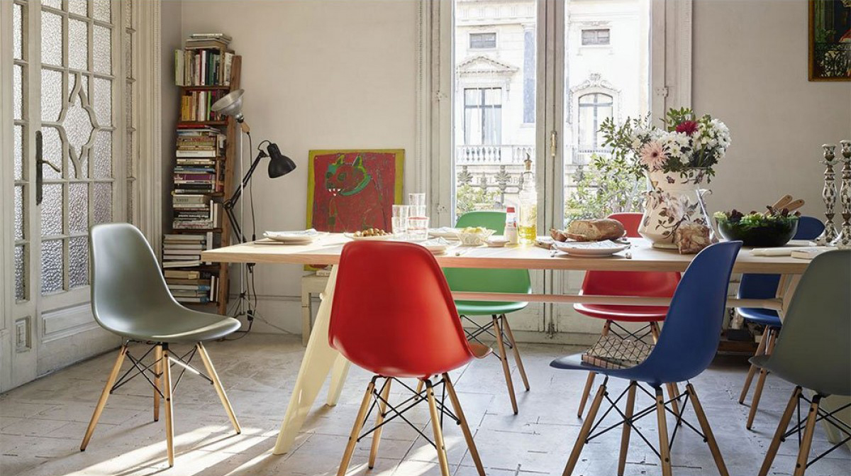 Design-Klassiker: Der Eames Plastic Chair