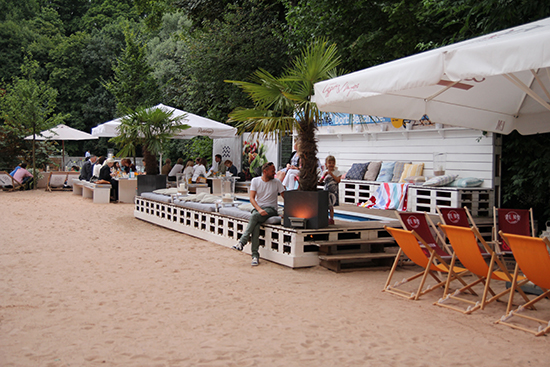 Lexington Beach-Party am Praterstrand