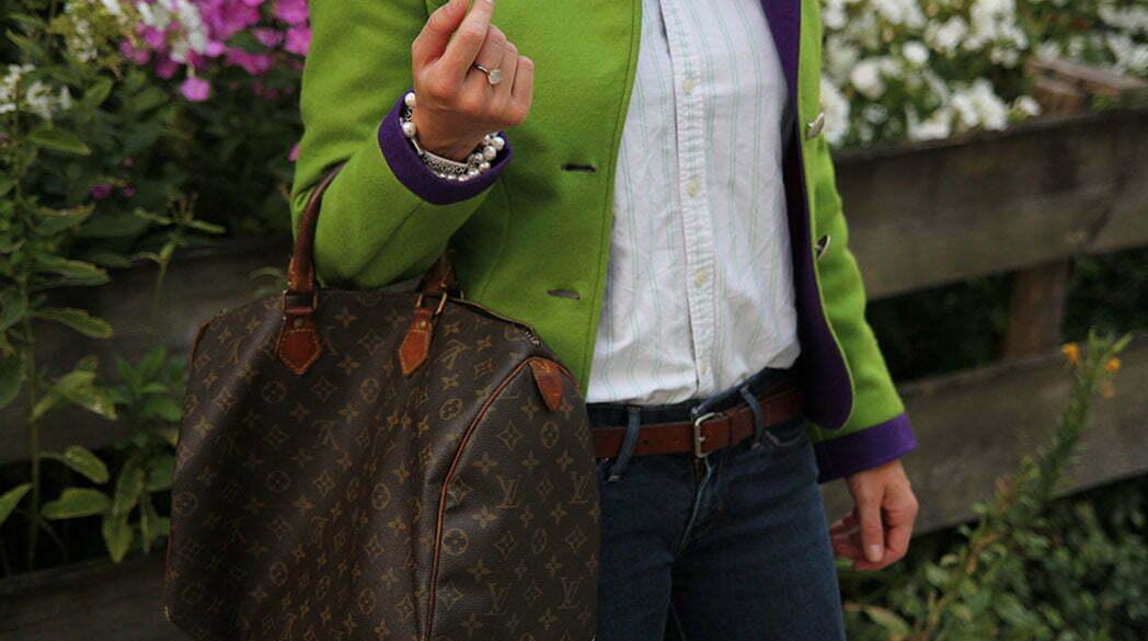 Outfitpost: Janker und Vintage Louis Vuitton