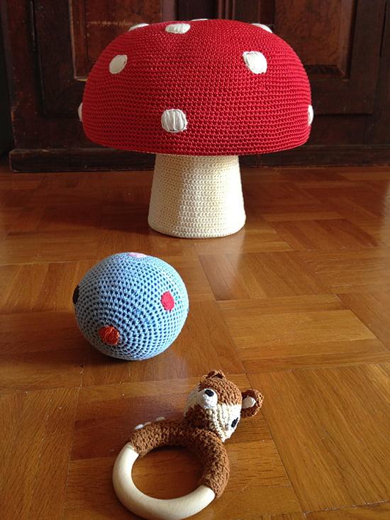 Anne-Claire Petit: gehäkeltes Spielzeug