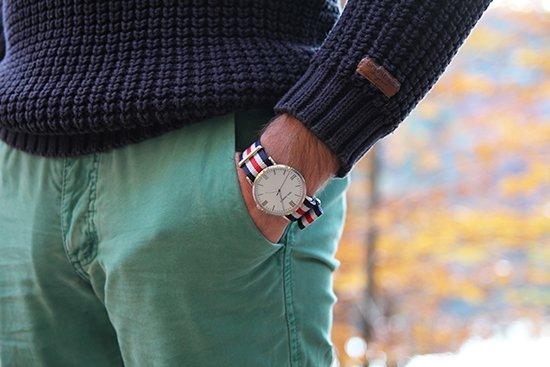 Nato-Strap-Armbanduhren von Paul Hewitt