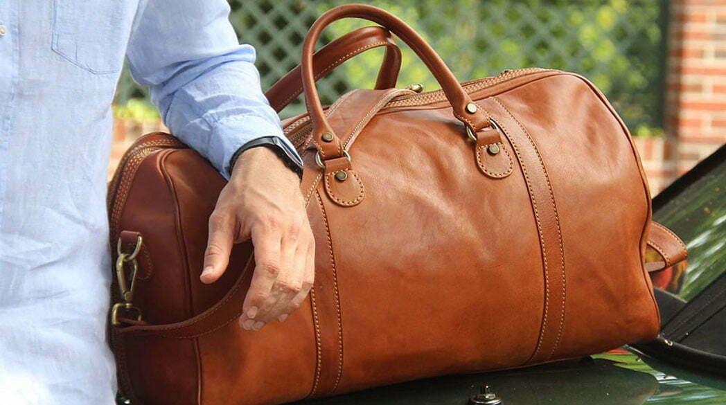 Freitagsfund: Handgefertigte Weekender aus Italien*