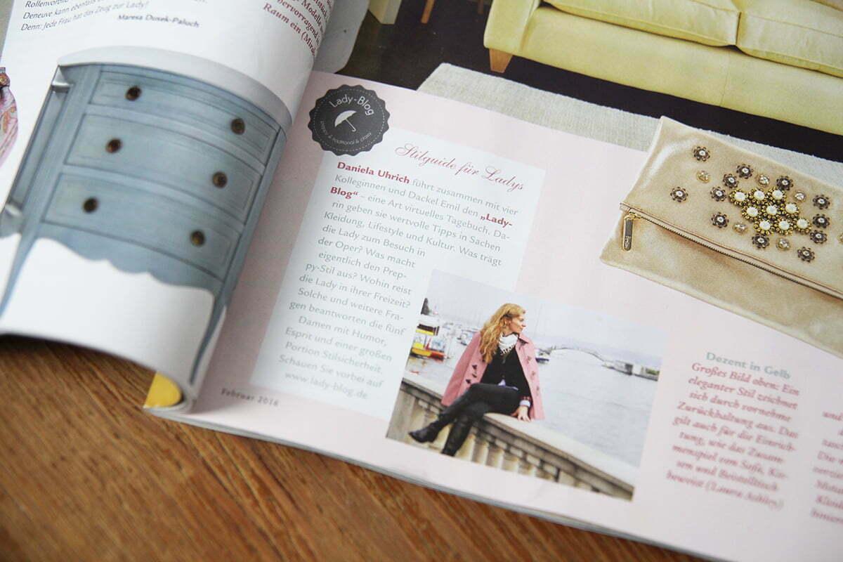 """""""She's a Lady"""" – Der Lady-Blog in der Wohnen & Garten"""