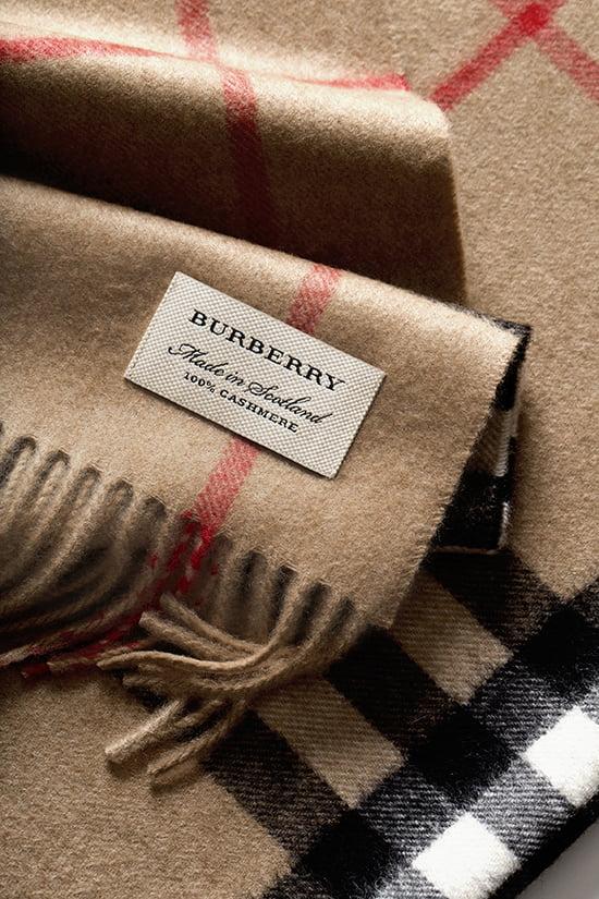 Der Burberry-Schal - Der Klassiker unter den Schals