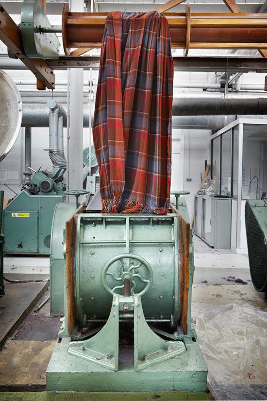 Begg & Co: Die Herstellung einer Wolldecke