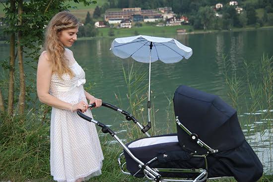 Wertvolle Babyausstattung: Kinderwagen von Hesba