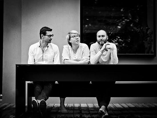 Die drei kommod-Gründer Daniel und Christina Gotsmich sowie Rainer Jungwirth