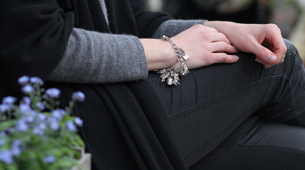 Outfitpost: Altes Bettelarmband & Lederleggings