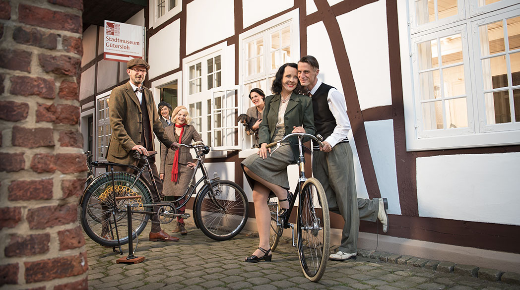 Tweed Run in Gütersloh