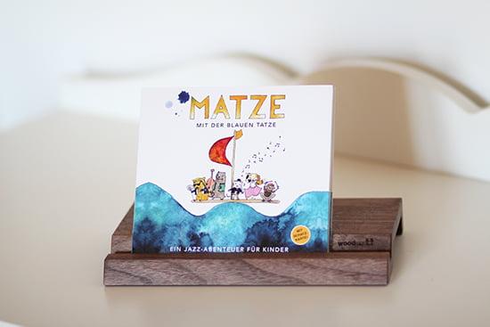 Jazz für Kinder: Matze mit der Blauen Tatze