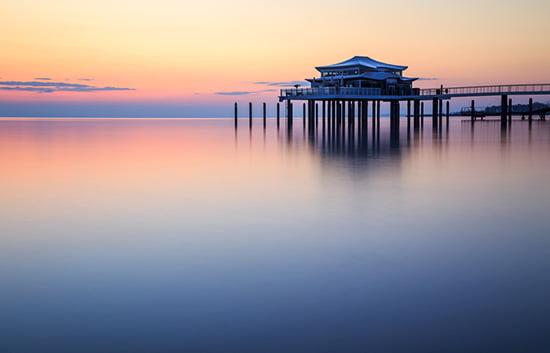 Tipps für Timmendorfer Strand: Restaurant Wolkenlos auf der Seebrücke