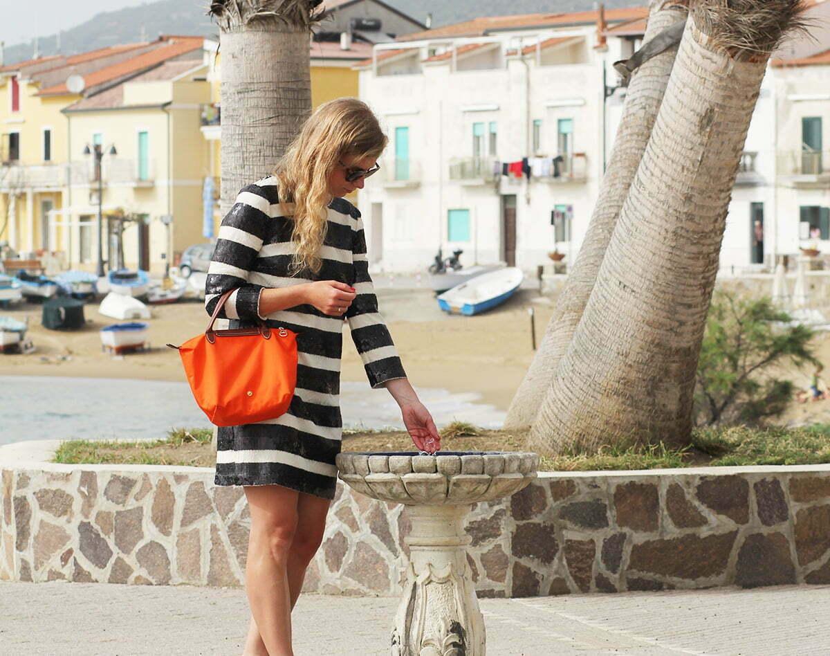 Outfitpost: Am Strand von Castellabate