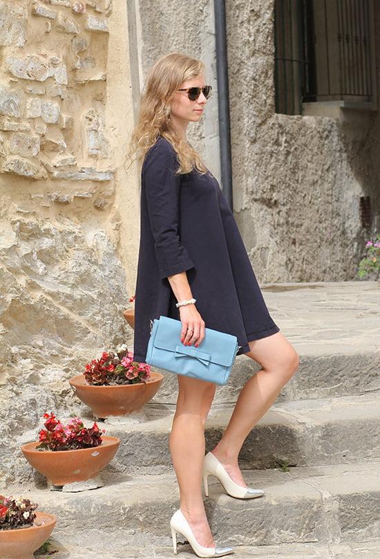 Outfitpost Daniela Uhrich in Castellabate