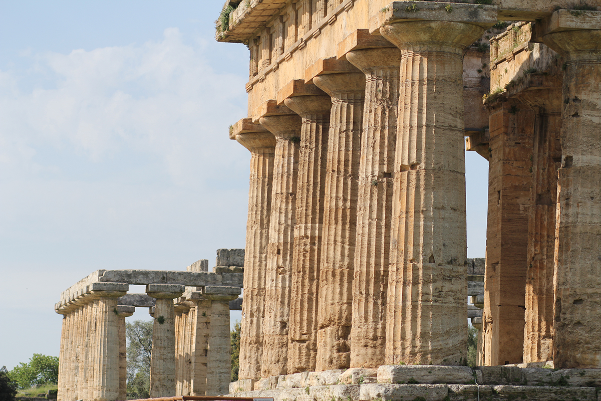 Der Lady-Blog auf Reisen: Die Ruinenstadt Paestum