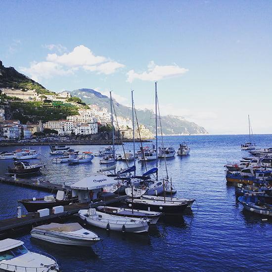 der Ort Amalfi an der Amalfi-Küste