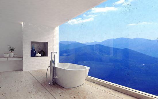 Wohnbäder: Ein romantisch-luxuriöser Touch