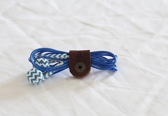 Gusti Leder: Kabelbinder aus Leder
