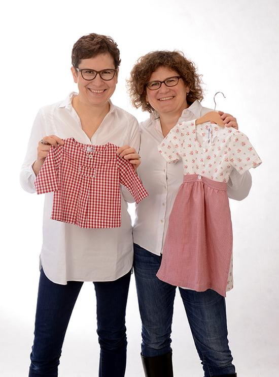 Sabine Ivey-Frank und Sonja Frank