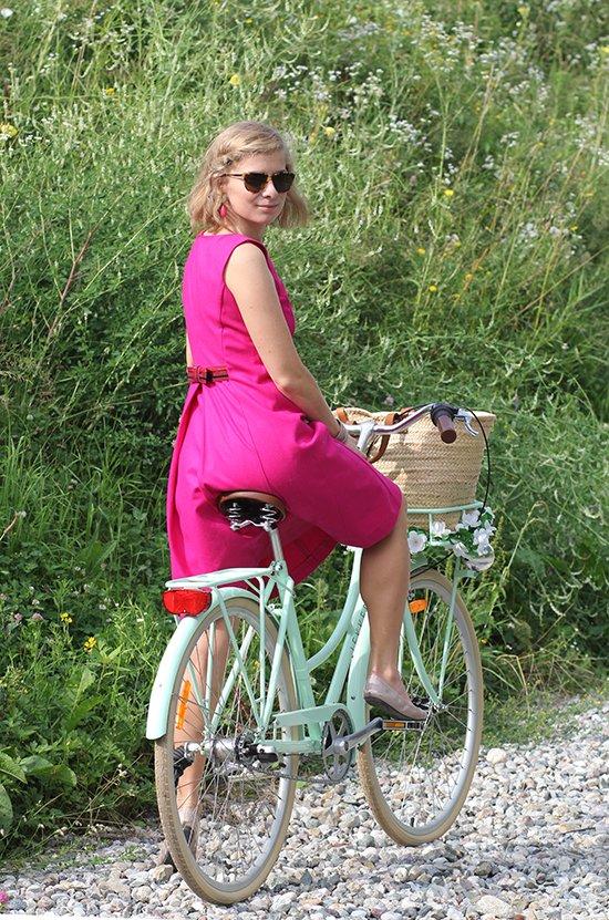 Mein LEKKER Bike in Mintgrün