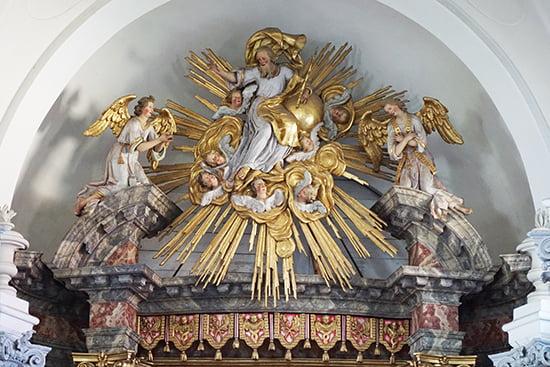Kirche des Klosters Reisach