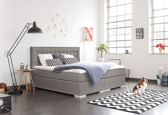 nice to know das perfekte boxspringbett lady blog. Black Bedroom Furniture Sets. Home Design Ideas