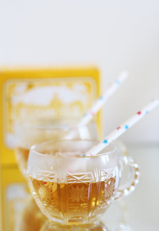 Kusmi Ice-Tea mit Grapefruit