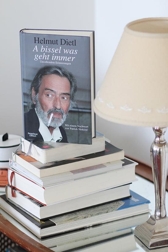 """Helmut Dietl Autobiografie """"A bissel was geht immer"""""""