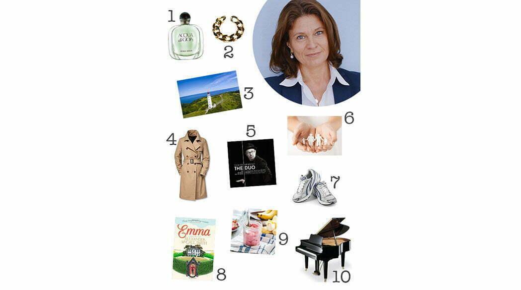 Love-List von Christiane Scharrer-Sieb, Gründerin der Halsbandaffaire