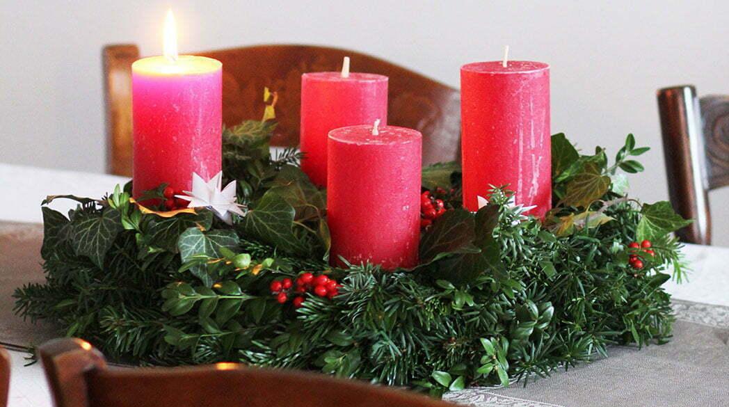 Advent, Advent…Unsere Weihnachtsdeko