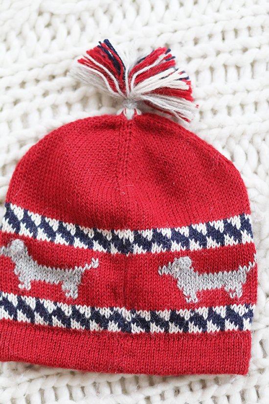 Mütze aus Alpakawolle von frank + frank