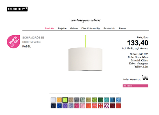 Im Test: Coloured by Lampe