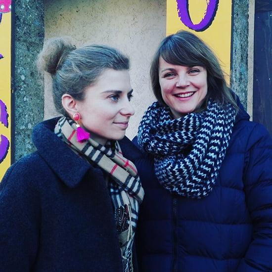 Daniela Uhrich und Autorin Susanne Straßer