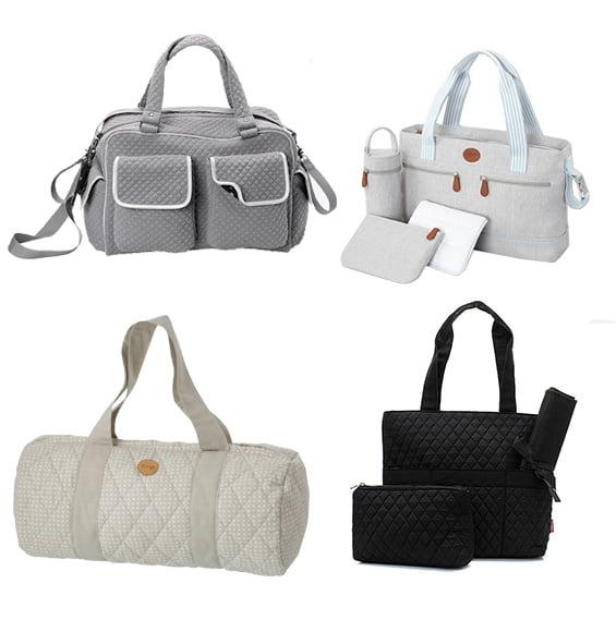 Stilvolle Wickeltaschen: Vertbaudet/Jacadi/Etsy/Ferm Living