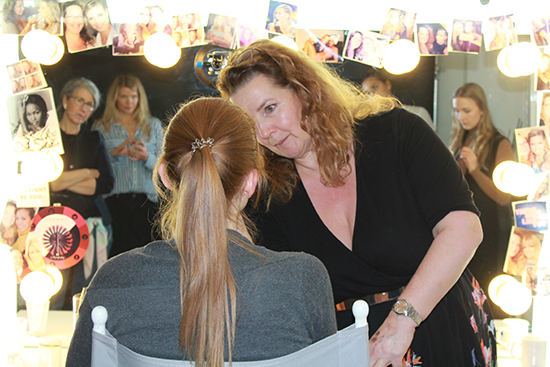 Make-up-Workshop bei Serena Goldenbaum