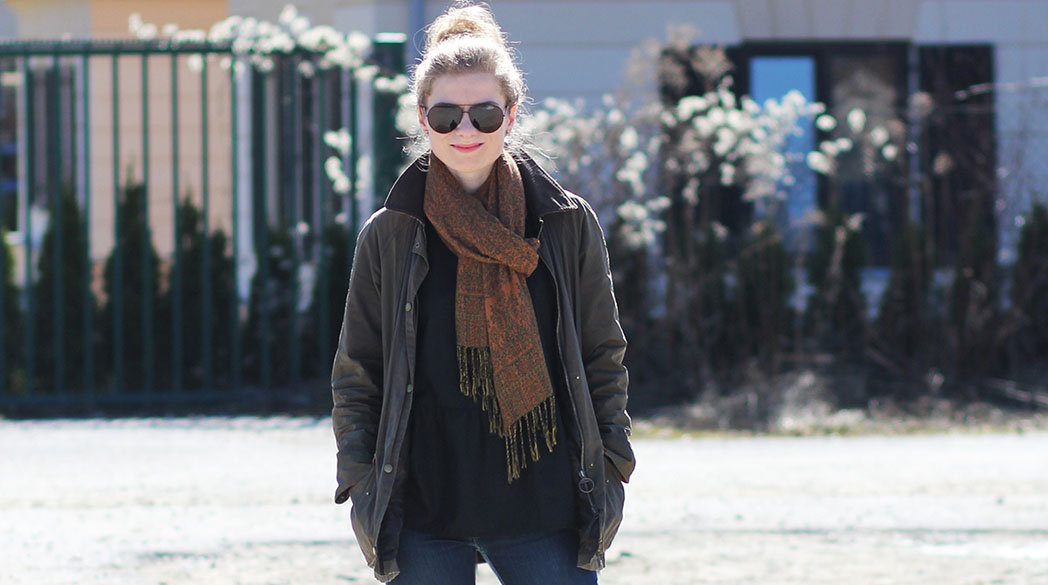Outfitpost: Schietwetterlook mit Hunter & Barbour