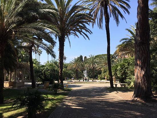 Rikscha-Ausflug in Sanremo