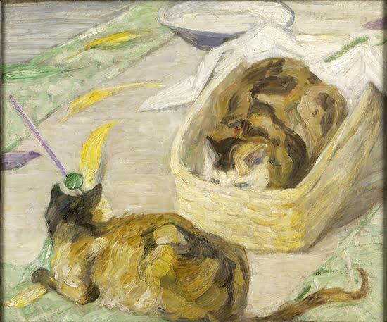 """Der """"Katzenkorb"""" von Franz Marc"""