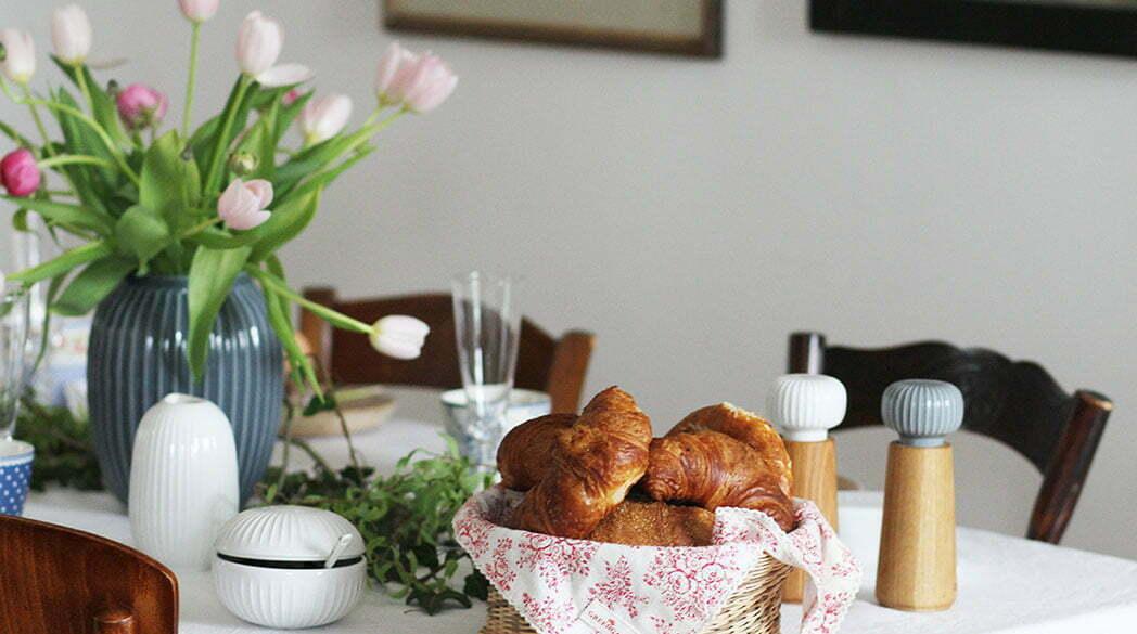 Ein Frühstückstisch mit Kähler-Geschirr