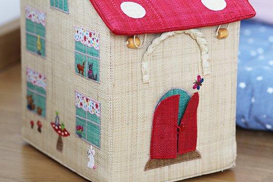 Haus-Korb für's Kinderspielzeug von RICE