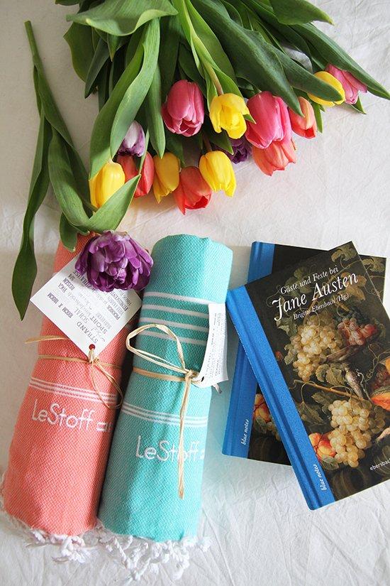 Lady-Blog-Gewinnspiel: Hamam-Tücher und Jane-Austen-Buch
