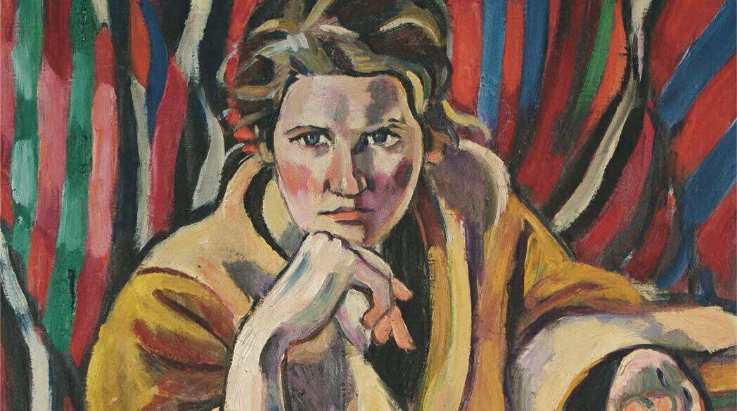 Helmuth Macke, Porträt Grete Hagemann (Foto: Kunstmuseum Ahlen)