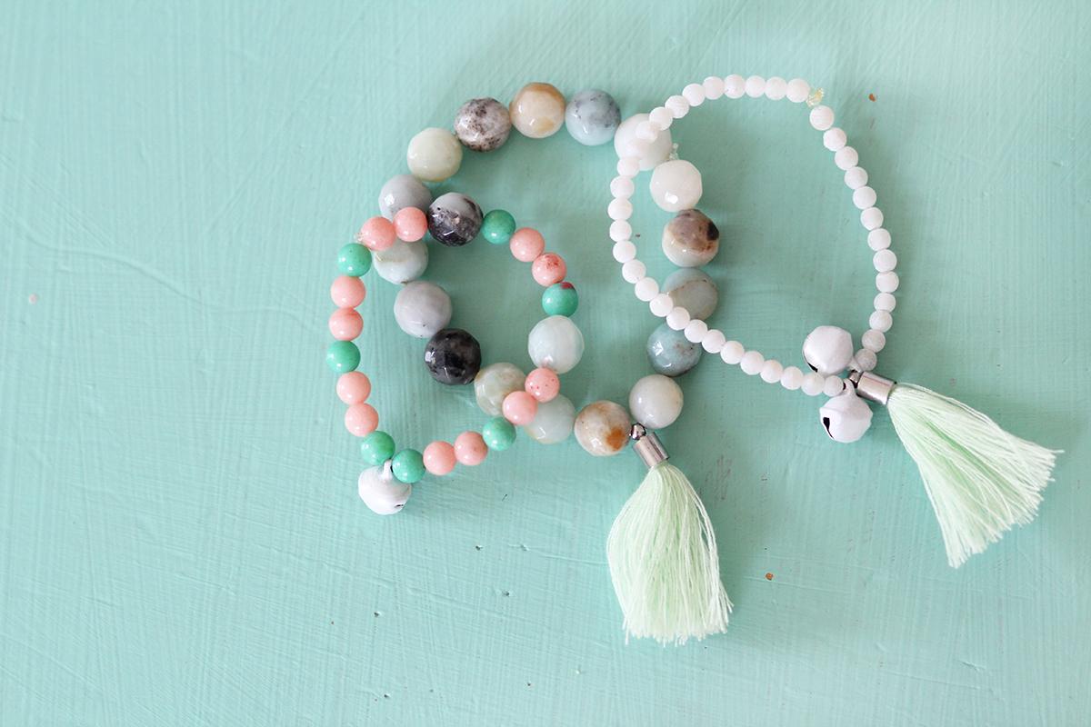 DIY: Ein Perlenarmband für Amalia und mich